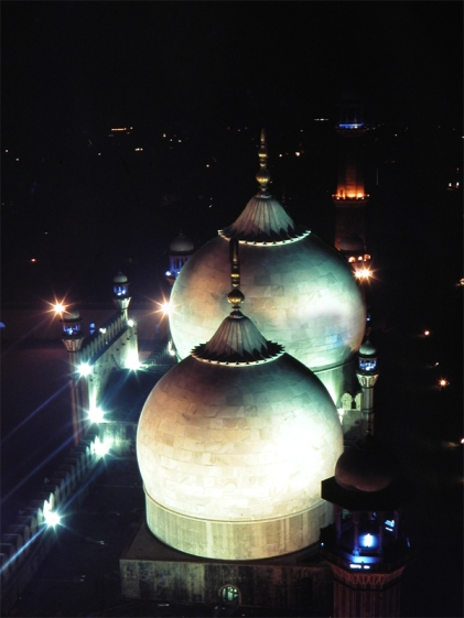 Domes of Badshahi Masjid